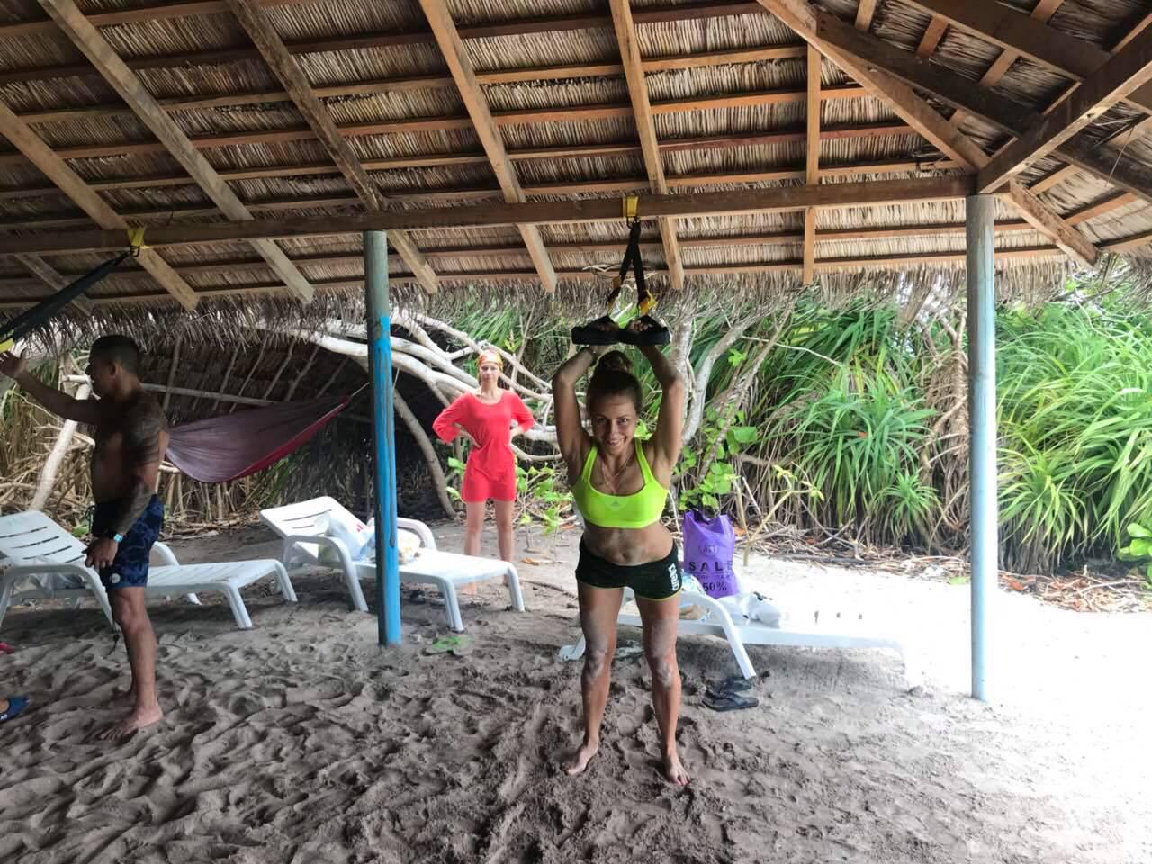 Фитнес на Мальдивах